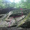The Great Roof, Cracks, Ga