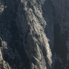 Altar buttress photographed from the palisades aka devil's staircase.