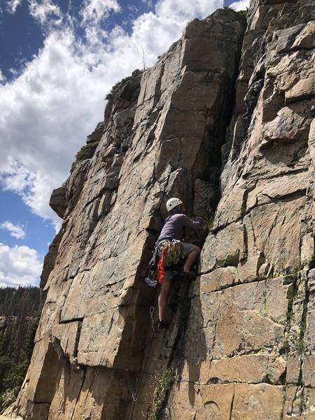 First lead trad climb
