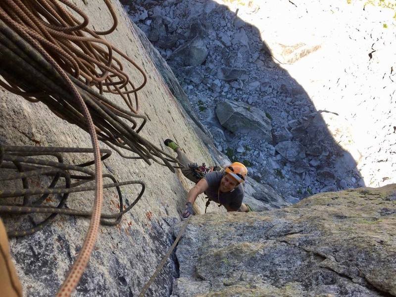 Loving life on the last few 10c moves on the third pitch.
