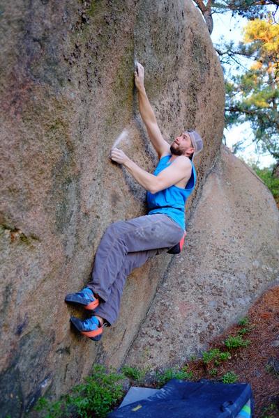 "Ethan ""limit bouldering""."