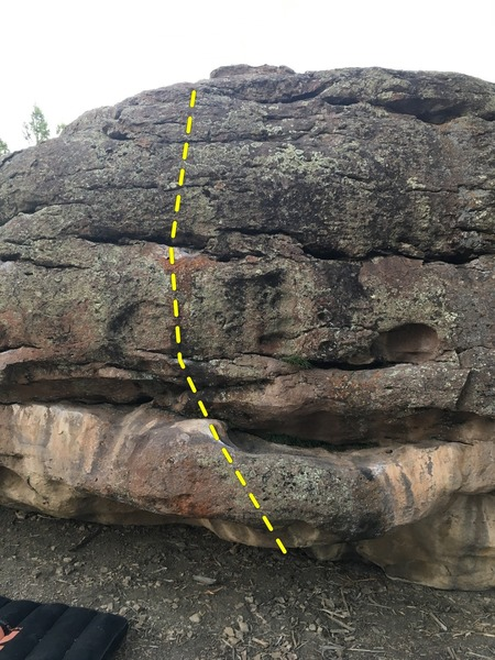 Uploading to check and see if this is this problem, found the page after stopping by the boulder at sunset, so I didn't know to check position relative to post number 12. If anyone could let me know, that'd be sweet, but I'm sure I'll be back soon anyway!