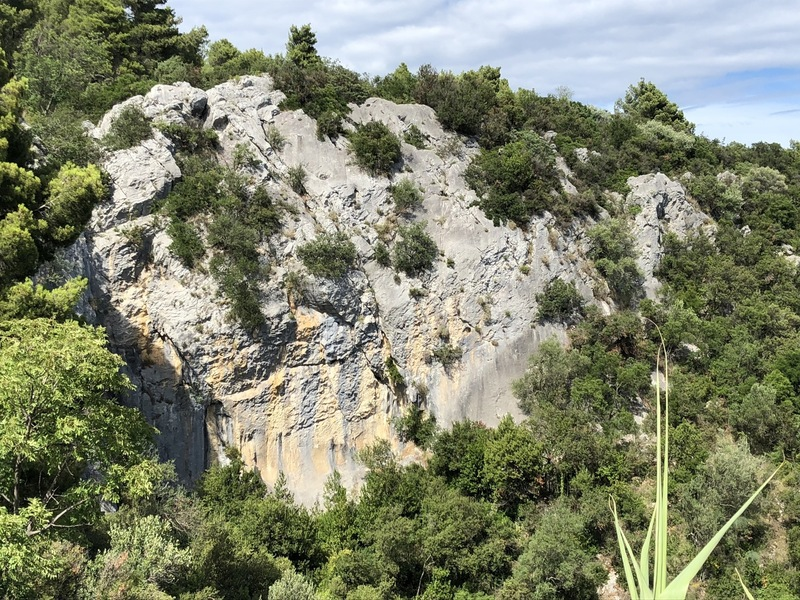 Przun climbing overview