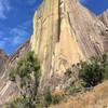 Climbing in Tsaranoro.