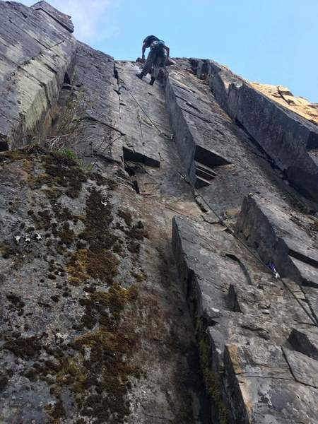 DPS on the first ascent of I.T.I.B.B.!