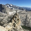 On top of the 1st false summit.