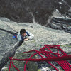 'Sparky' near the top of the OW on Vertigo in late fall 1982