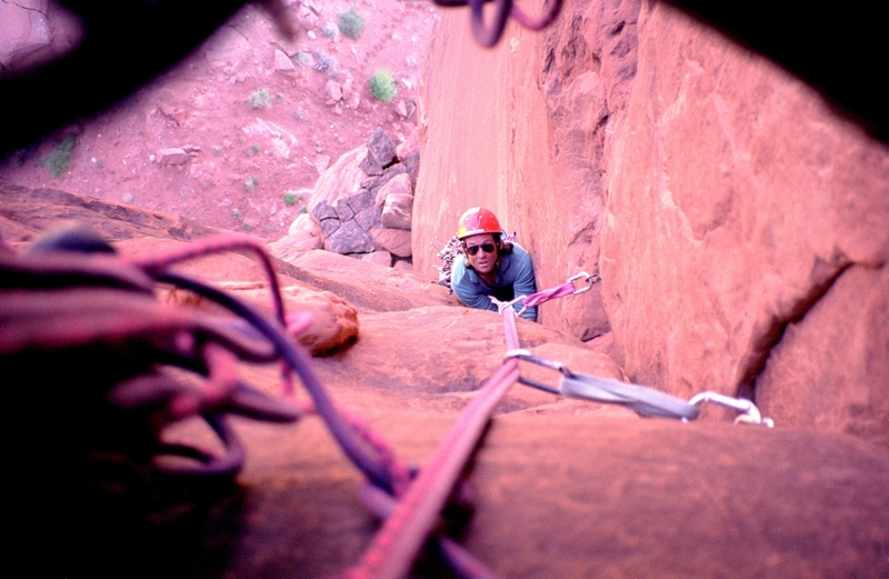 Looking down pitch 2 of 3 on this desert classic. ;)
