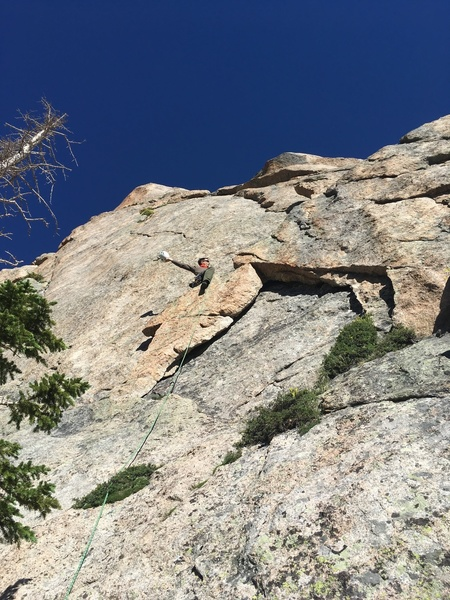 Tony on P1 (5.7) with the cowboy move.  This is the same P1 as Sidewinder.