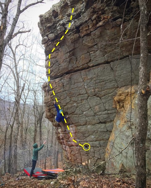Mother Leopard V5+<br> Photo: Jamie Powers