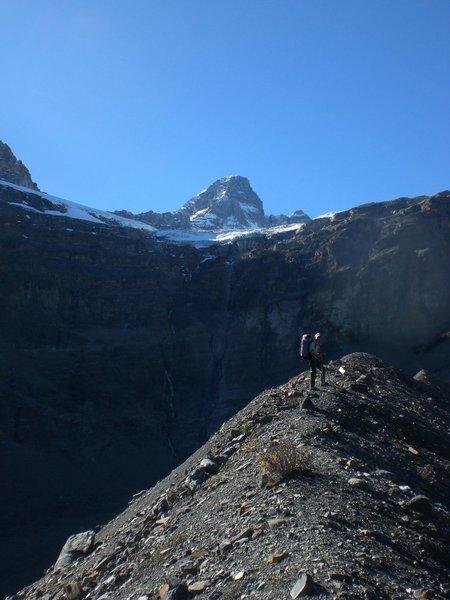 Diadem approach, Canadian Rockies