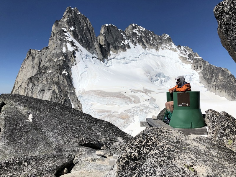 The Pigeon Spire col throne
