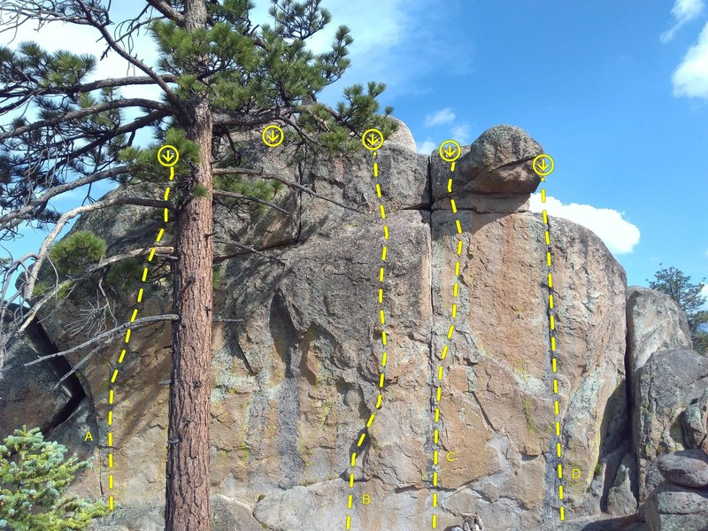 The Sushi Bar, Holcomb Valley Pinnacles