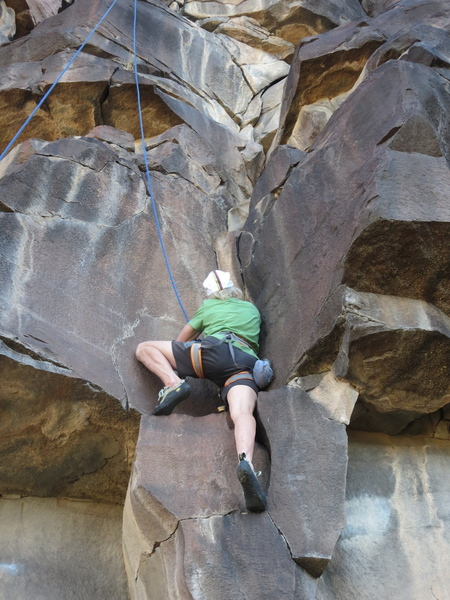 Better way to do the upper crux.