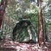 Shady view of the 20' boulder