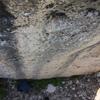 Cool water streaks on clean stone!
