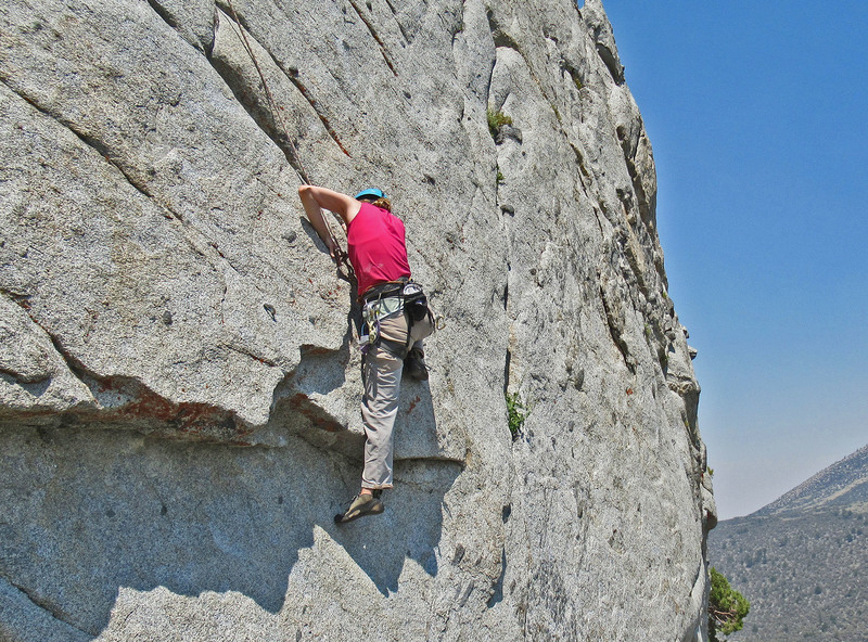 always amazed at how climbers solve a particular sequence differently.  never thought of this crux as a mantle...