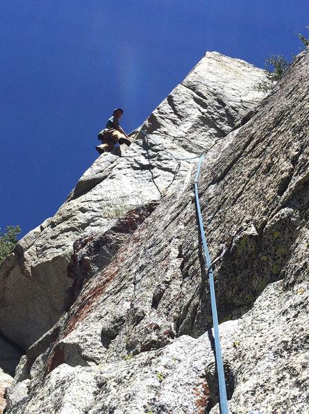 First ascent of Kick Aspen