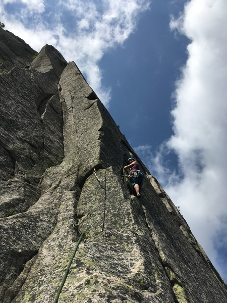 Torie leading pitch 2