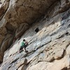 Nothing junior about the hueco at the end of this route