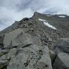 The Northwest Ridge of Mount Tyndall