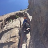 Kyle C. heading up P2 of Hassayampa. The money pitch!