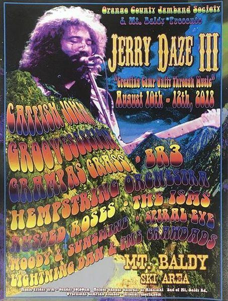 Jerry Daze III, Mount Baldy