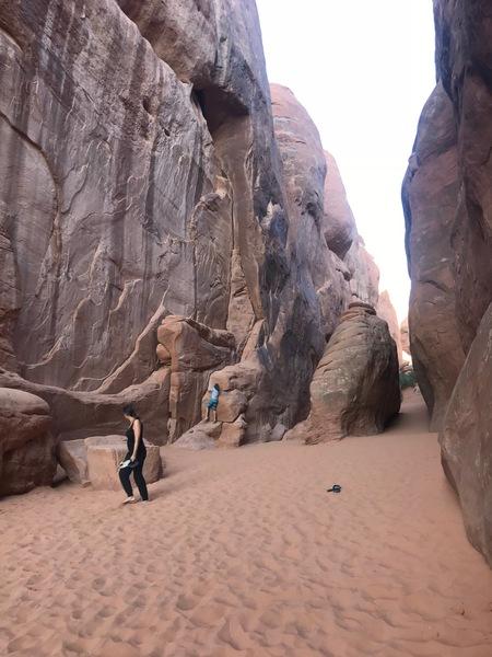 Sand Dune Arch Area