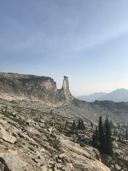 East face.