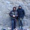 Matt Ciancio and Peter Croft, longtime buds....gorge day