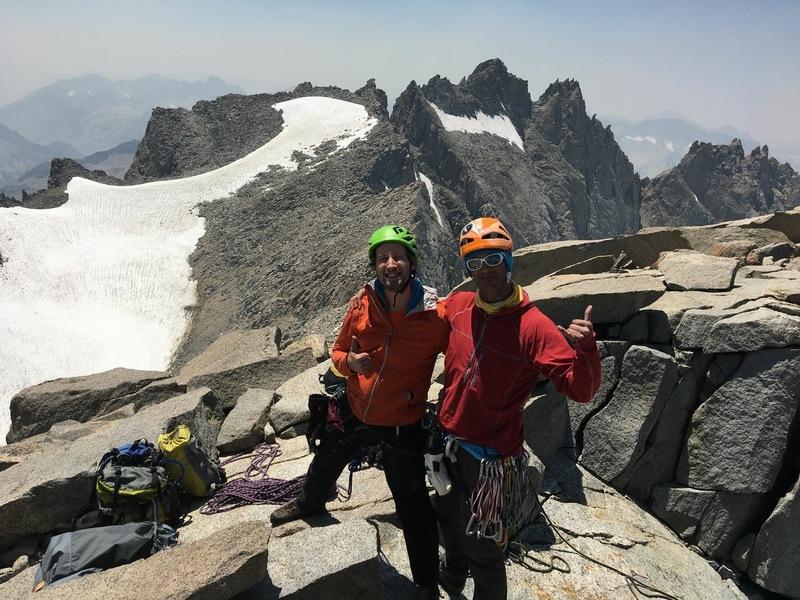 Summit of Mt. Sill with Greg Davis!