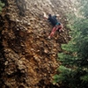 Tricky little route. One move away from clearing the crux.