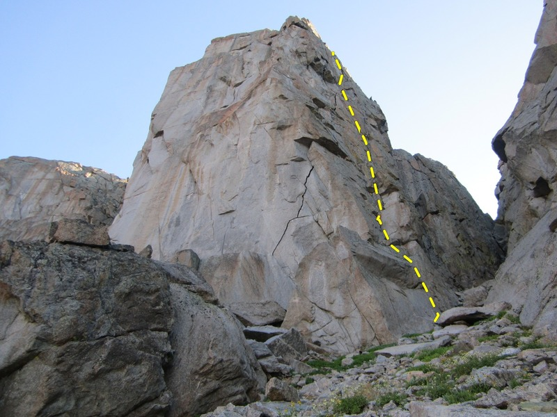 Re-Ration Crack on the Intimidator Buttress