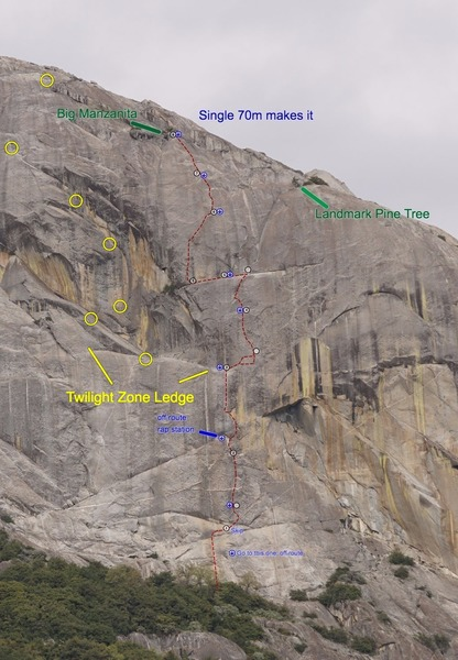 Modern Guilt rap approach and Whistler route in yellow