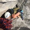 The beached whale move right before the second belay