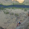 A fine place to be, high above the Crooked River