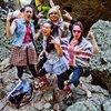 80's Day climbing crew at Malibu Creek