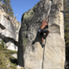 Salém James on Olmsted Crack in August 2018.