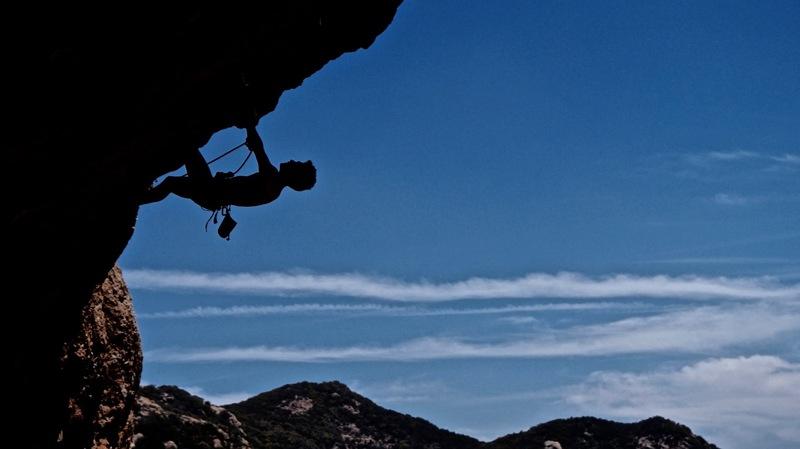 Climb until you fall.<br> <br> Ciaran pulls hard...