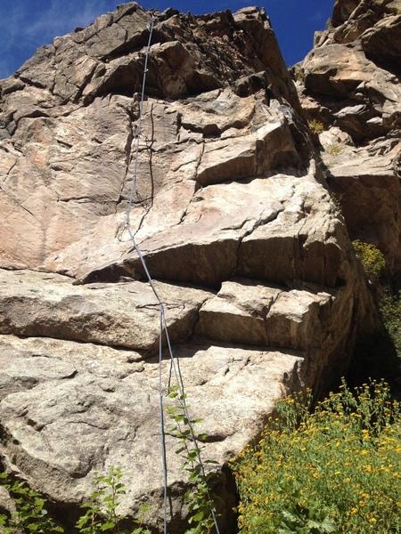 The climb.