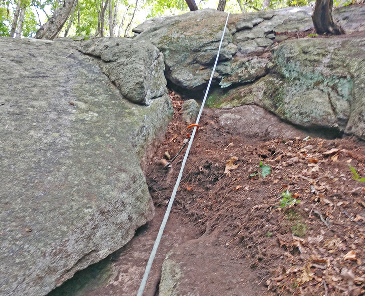 Cast-less Point upper P1 first trad lead