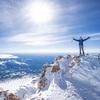 Eric Catig on Mt. Shasta summit (Photo by: Keith Samson)