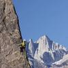 Eric Catig on Shark's Fin Arete (Photo by: Christian Lanley)
