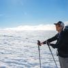 Eric Catig on the Muir Snowfield, Mt. Rainier, WA (Photo by: Keith Samson)