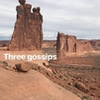 Three Gossips Arches National Park.