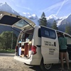 That Vanlife camping below Mont Blanc. The absolute perfect place to wake up and have coffee.