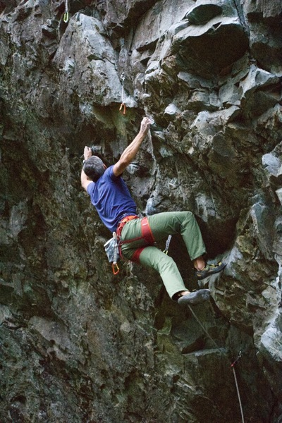 getting into the crux