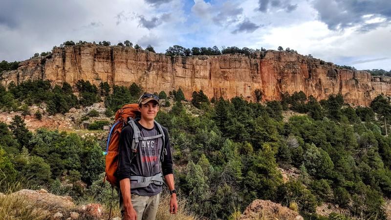 Cactus Cliff, 9/1/18.