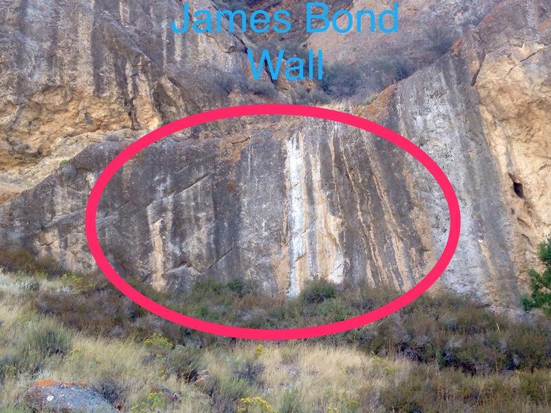 James Bond wall