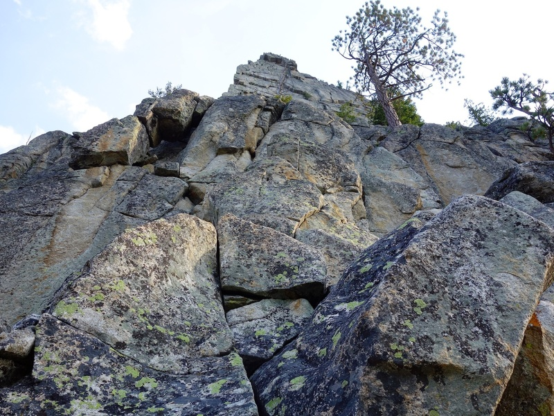 Pitch 2 (this is the lower start below Table Ledge).